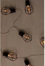 Guirlande lumineuse à LED avec chargeur solaire