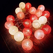 Guirlande lumineuse à LED de 6 cm de diamètre -