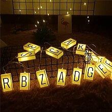 Guirlande lumineuse à LED pour extérieur -
