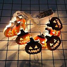 Guirlande lumineuse à suspendre pour Halloween -