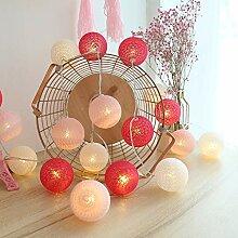 Guirlande Lumineuse Boule Coton, Interieur