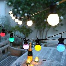 Guirlande lumineuse boule de Globe à LED