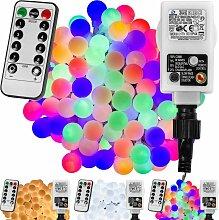 ® Guirlande lumineuse boules LED, blanc chaud/