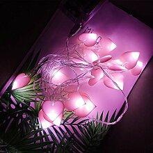 Guirlande Lumineuse Coeur pour Chambre, 20 LED