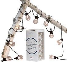 Guirlande lumineuse d'extérieur LED L6m
