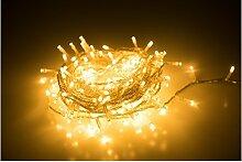 Guirlande lumineuse de 240 LED, lumière blanche