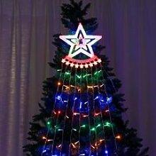 Guirlande lumineuse de étoile LED pour arbre de
