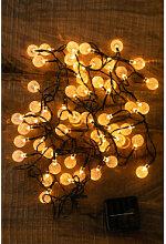 Guirlande lumineuse de jardin solaire à LED Pepo