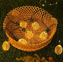 Guirlande lumineuse décorative ananas en fer