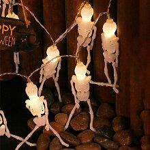Guirlande lumineuse décorative pour Halloween -