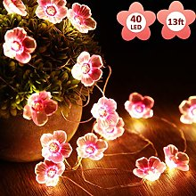 Guirlande lumineuse en forme de fleur de cerisier