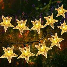 Guirlande Lumineuse Etoile,OxyLED 59 ft 110 LEDs