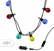 Guirlande lumineuse extérieur connectable 10