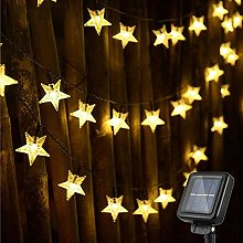 Guirlande Lumineuse Exterieur Solaire, 100 LED