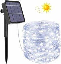 Guirlande Lumineuse Exterieur Solaire, 20m 200 LED