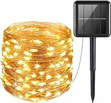 Guirlande Lumineuse Exterieur Solaire, Litogo 20m