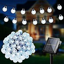 Guirlande Lumineuse Extérieure Solaire, LED