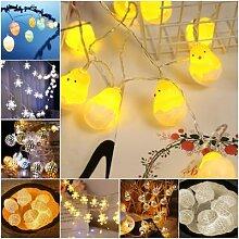 Guirlande lumineuse féerique, décoration de