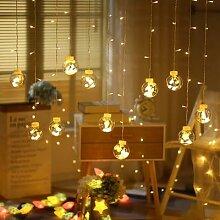 Guirlande lumineuse féerique pour mariage, noël,