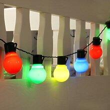 Guirlande lumineuse G50 festoon globe ampoule Led