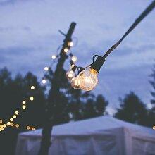 Guirlande lumineuse guinguette 25 globes