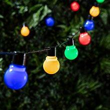 Guirlande Lumineuse Guinguette 30 Boules LED