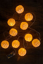 Guirlande lumineuse LED 165 cm Viela Blanc Chaud