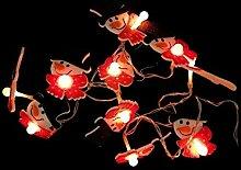Guirlande Lumineuse LED à pile 1M IP20 10LED