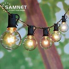 Guirlande lumineuse LED étanche IP44, ampoules