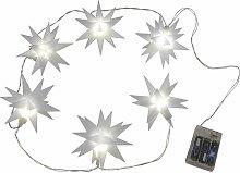Guirlande lumineuse LED avec étoiles 3D - Star-max