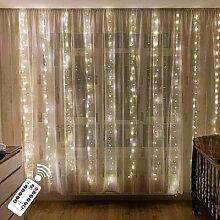 Guirlande lumineuse LED avec télécommande, 3M,