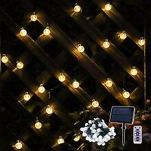 Guirlande Lumineuse LED Globe, à énergie