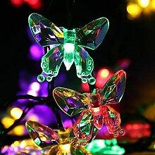 Guirlande Lumineuse LED Solaire étanche 20 LED