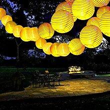 Guirlande lumineuse LED Solaire extérieur lampes