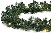 Guirlande lumineuse Noël imitation sapin 20,25 m