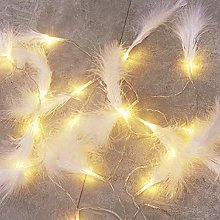 Guirlande lumineuse Plume Blanc Chaud Plume