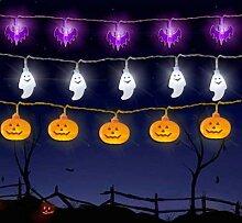 Guirlande lumineuse pour Halloween, lanterne de