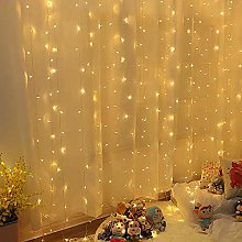 Guirlande Lumineuse Rideau 300 LED Rideau Lumineux