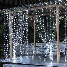 Guirlande lumineuse rideau de lumière féerique,