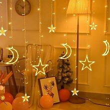 Guirlande lumineuse rideau de lumière, LED M, 3.5