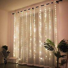 Guirlande lumineuse rideau de noël à lumière