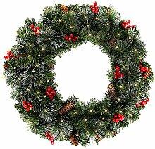 Guirlande lumineuse sapin artificiel de Noël