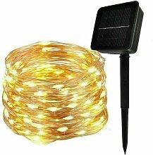 Guirlande Lumineuse Solaire, 30M 300 LED Exterieur