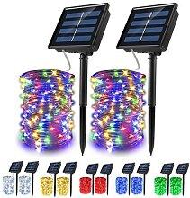 Guirlande Lumineuse solaire 5m 10m 20m LED fil de