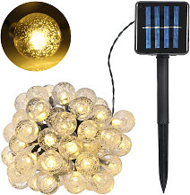 Guirlande Lumineuse Solaire 5W 100Leds, 55.8Ft,
