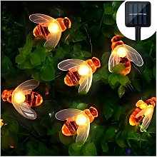 Guirlande lumineuse solaire à LED avec 30 LED