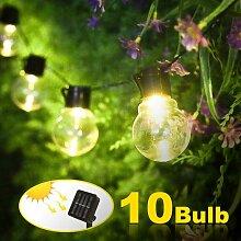 Guirlande lumineuse solaire d'extérieur - 10