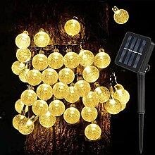 Guirlande lumineuse solaire de jardin 40 LED en