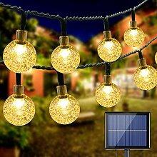 Guirlande Lumineuse Solaire Extérieure, BrizLabs