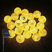 Guirlande Lumineuse Solaire LED Lanterne, ALED